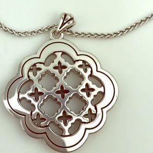 Brighton Scroll Reversible Pendant Necklace